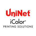 UniNet iColor Printing Solutions logo