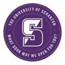 Univ of Scranton logo