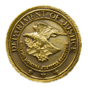 The United States Department of Justice logo